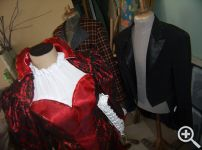 Городской костюм Розалинды в наметке